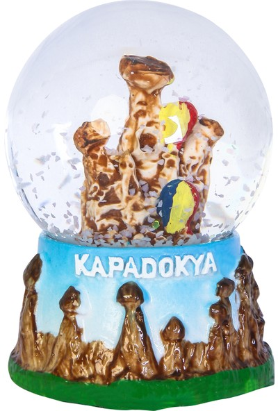 Arı Onyx Kapadokya Kar Küresi 'küçük Boy'