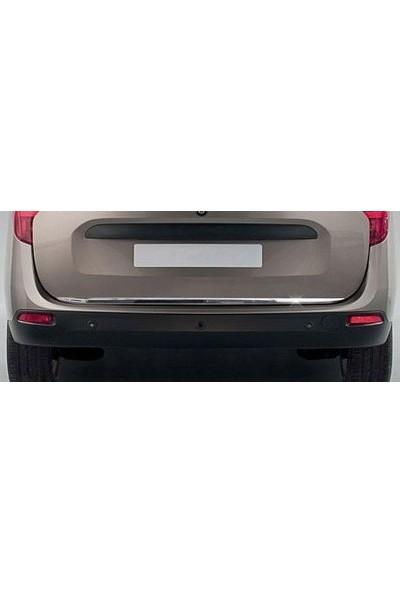 KromGaraj Dacia Lodgy Formlu Krom Bagaj Alt Çıta 2012 Üzeri Paslanmaz Çelik