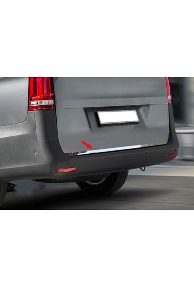 KromGaraj Mercedes Vito W447 Krom Bagaj Alt Çıtası 2014+ Üzeri P. Çelik