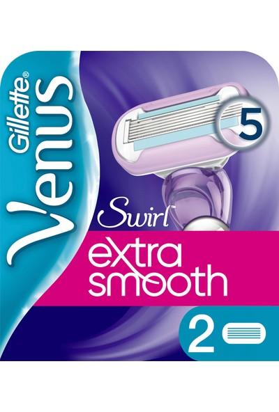 Gillette Venus Swirl 2'li Yedek Kadın Tıraş Bıçağı