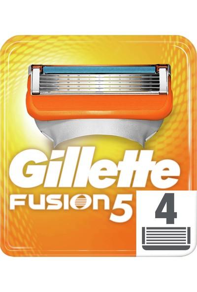 Gillette Fusion Yedek Tıraş Bıçağı 4'lü