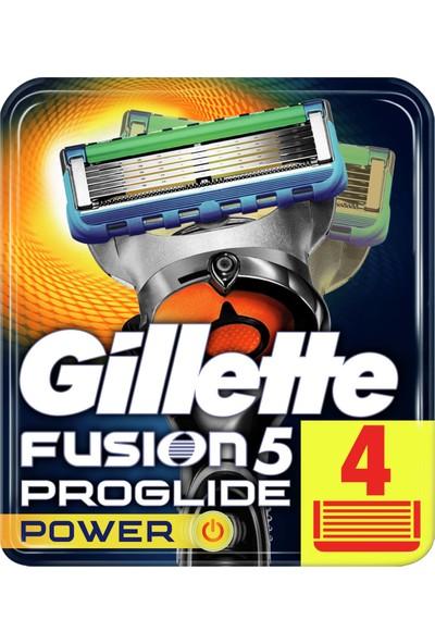 Gillette Fusion ProGlide Power 4'lü Yedek Tıraş Bıçağı