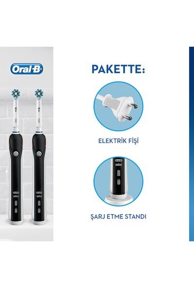 Oral-B Pro 2900 Siyah 2'li Avantaj Paketi Şarj Edilebilir Diş Fırçası