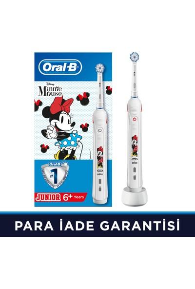 Oral-B Junior Minnie Mouse Çocuklar İçin Şarj Edilebilir Diş Fırçası (6+ Yaş)