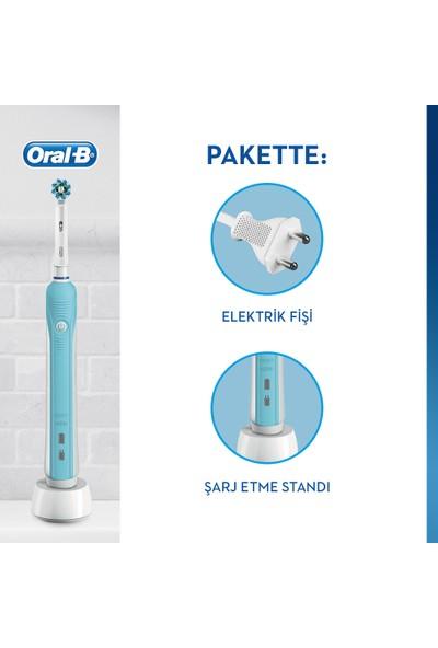 Oral-B Pro 500 Şarj Edilebilir Diş Fırçası
