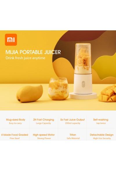 Xiaomi Mijia Taşınabilir Meyve Sıkacağı Makinesi USB Elektrikli (Yurt Dışından)