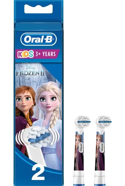 Oral-B Frozen Çocuklar İçin 2'li Diş Fırçası Yedek Başlığı