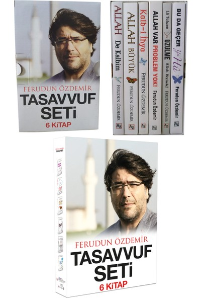 Ferudun Özdemir Tasavvuf Seti (6 Kitap) - Ferudun Özdemir