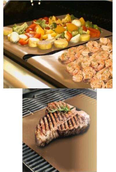 Yıkanabilir Pişirme & Mangal Kağıdı 2'li (Teflon Kaplı Cam Kumaş)