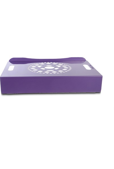 Voll Blume Notebook Standı - Lila