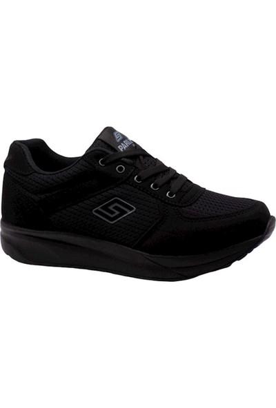 Parley 916 Siyah Anarok Hafif Yürüyüş Kadın Spor Ayakkabı