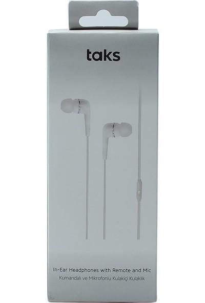 Taks Kumandalı ve Mikrofonlu Kulak Içi Kulaklık
