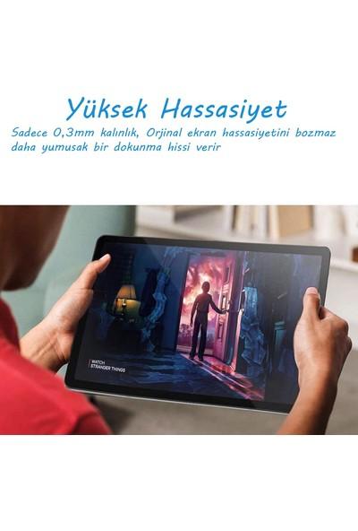 Ukscase Samsung Galaxy Tab A7 T500 (10.4'') (SM-T500NZDATUR) Esnek Nano Cam Ekran Koruyucu