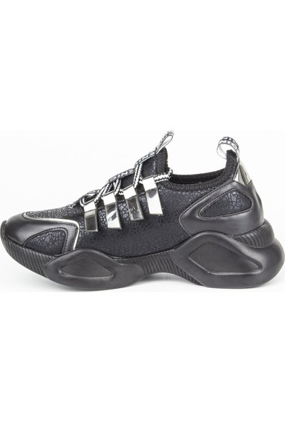 Marine Shoes Kadın Siyah Günlük Ayakkabı