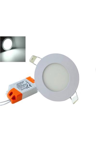 Inova Led 3 W 6500K Beyaz Işık Gömme Spot