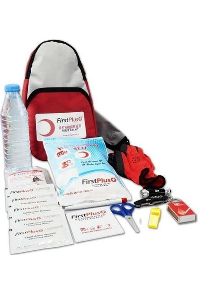 First Plus Firstplus Fp 09.101 Deprem-Afet Ilk Yardım Seti/çantası