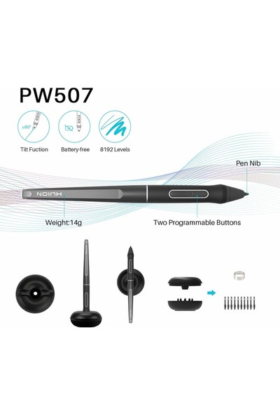 """Huion Kamvas Pro 13 GT-133 13.3"""" Grafik Tablet (Yurt Dışından)"""