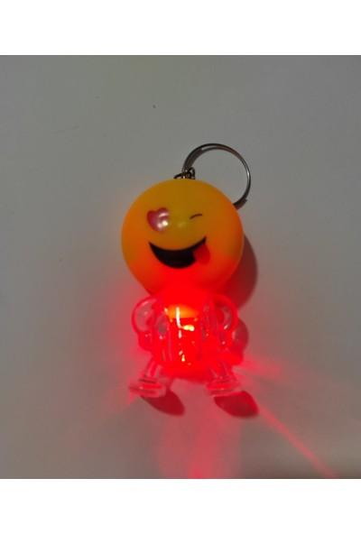 Asel Emoji Işıklı Anahtarlık