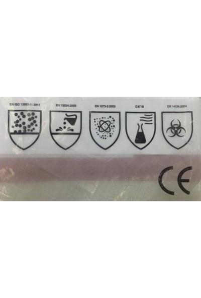 Safetouch TP63 Tek Kullanımlık Yüksek Koruyucu Tulum