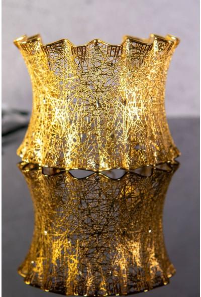 İdeal Sarraf 14 Ayar Altın 5 cm Tül Bilezik