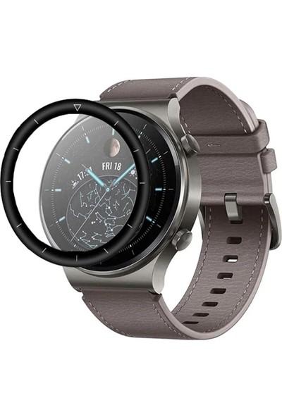 Ally Huawei Watch GT 2 Pro 3D Full Kaplama Pc + P mma Hd Ekran Koruyucu AL-33294