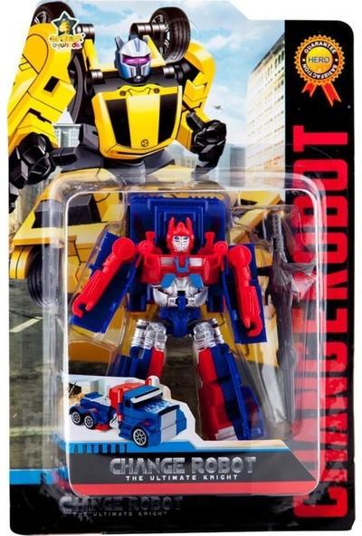 Erdem Oyuncak Erdem Change Robot Autobot Mavi Kırmızı 39-68