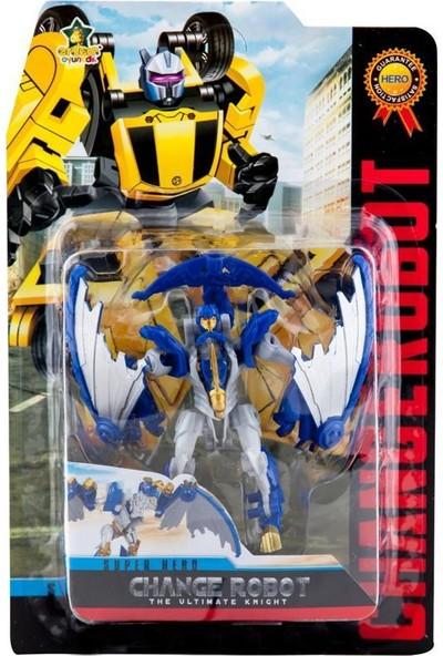 Erdem Oyuncak Erdem Change Robot Super Hero Mavi Gri 39-68