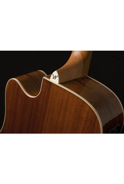 Washburn WD7SCE Harvest D7SCE Elektro Akustik Gitar
