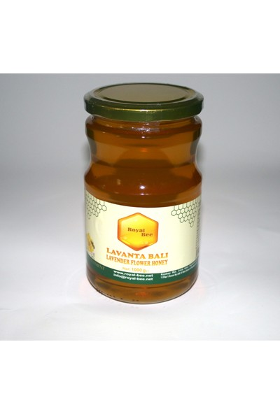 Royal Bee Süzme Lavanta Balı 1000GR