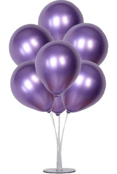 Balon 50 Adet Krom Balon Metalik Balon Gold 12 Inç