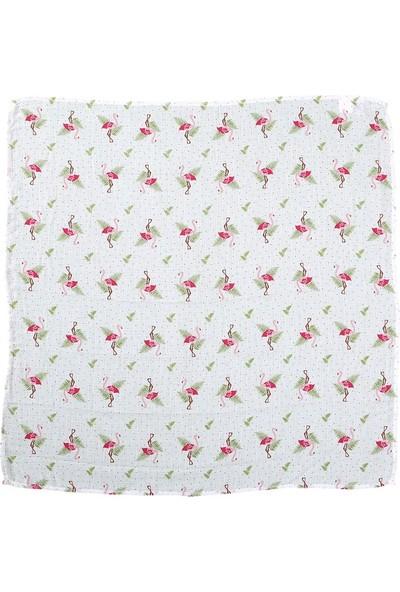 Lunanino Müslin Bebek Bezi 2 Farklı Ebat Tek Kutuda Flamingo