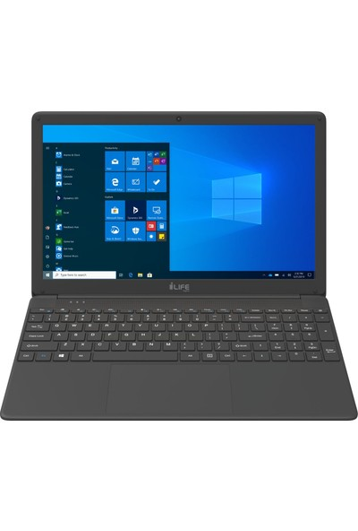"I-Life ZED Air CX5 Intel Core i5 5257U 4GB 256GB SSD Windows 10 Home 15.6"" FHD Taşınabilir Bilgisayar NTBTILWBI5154256"