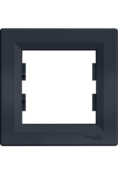 Schneider Asfora Plus-Tekli Çerçeve, Antrasit EPH5800171