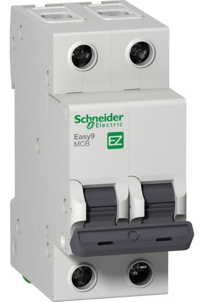 Schneider Electric Schneider 2X10A C Otomat Sigorta 3ka Schneider EZ9F43210