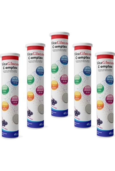Vitaglucan C-Omplex 20 Efervesan Tablet x 5 Adet