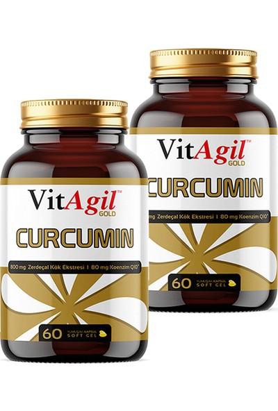 Vitagil Gold Curcumin 800 Mg 60 Kapsül x 2 Adet