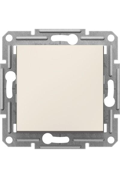Schneider Electric Schneider Asfora - Vavien, Çerçevesiz, Krem EPH0470123