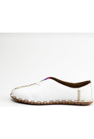 Messimod 2901 Kadın Deri Günlük Ayakkabı