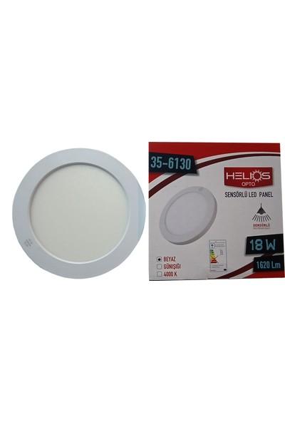 Helios Sensörlü LED Panel Armatür 18W Beyaz