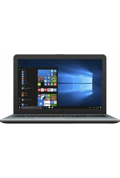 """Asus X540UA-GQ3335T Intel Core i3 7020U 4GB 256GB SSD Windows 10 Home 15.6"""" Taşınabilir Bilgisayar"""