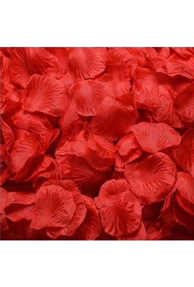 Biotech 1000 Adet Gül Yaprakları Düğün Parti Çiçek Romantik Yapay Gül Yaprağı