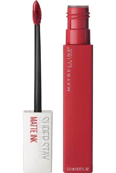 Maybelline New York Super Stay Matte Ink Likit Mat Ruj - 20 Pioneer - Kırmızı