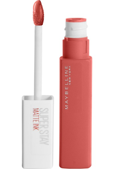Maybelline New York Super Stay Matte Ink Likit Mat Ruj - 130 Self-Starter - Nude/Kahve