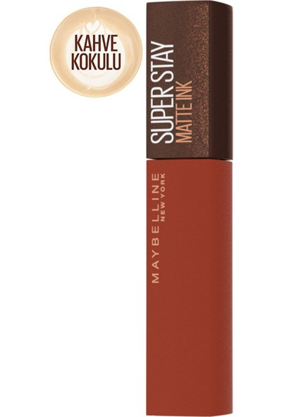 Maybelline New York Super Stay Matte Ink Likit Mat Ruj - 270 Cocoa Connoisseur