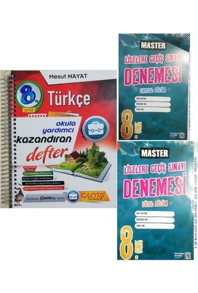 Çanta Yayınları 8. Sınıf Türkçe Akıllı Defter + LGS Deneme