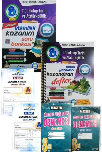 Çanta Yayınları 8. Sınıf İnkılap Tarihi ve Atatürkçülük Defter + Soru Bankası + LGS Deneme