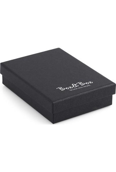 Box&box 925 Ayar Gümüş Oval Baget Zirkon Taşlı Kolye