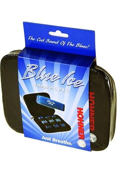 Hohner Blue Ice Mızıka Seti 3'lü Set C-D-G