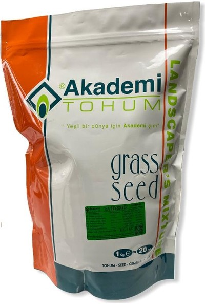 Akademi Tohum Çim Tohumu 6'lı Karışım 1 kg