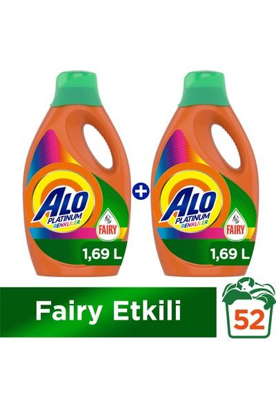 Alo Platinum Fairy Etkili 26 Yıkama Renkli 2'li Paket